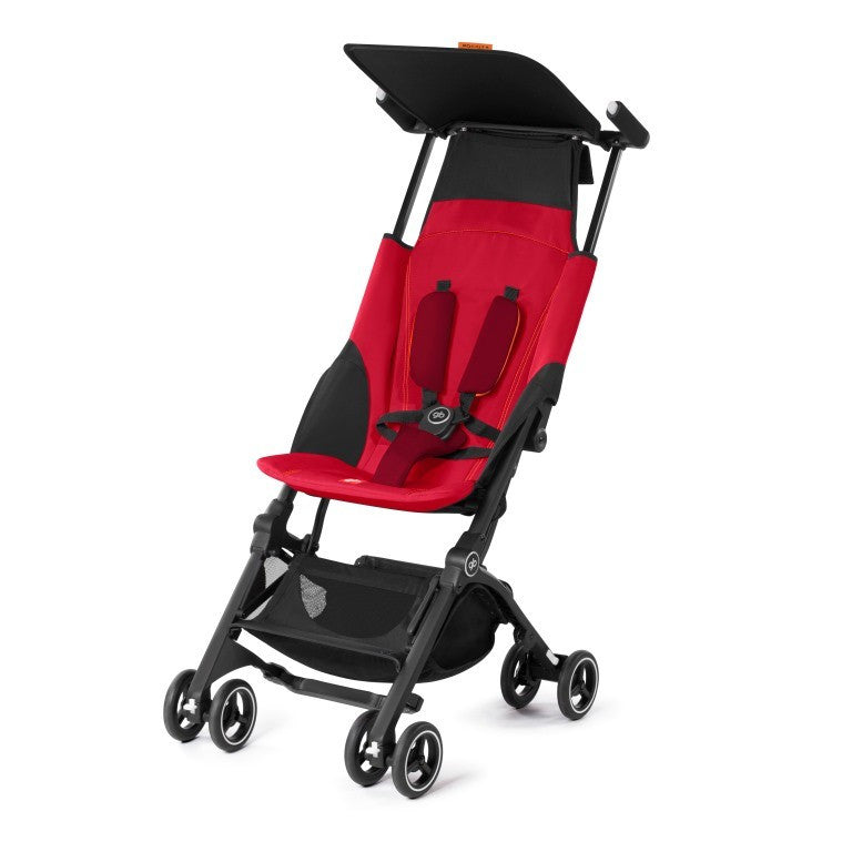 Pockit+ Stroller - dragon fly red