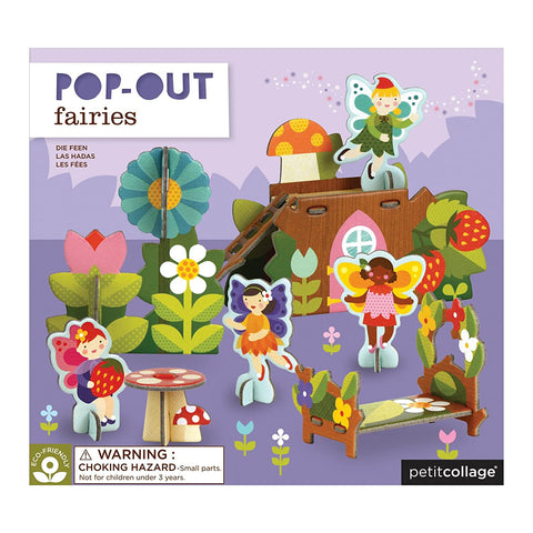 Pop-Out and Build Playlet - Fairies