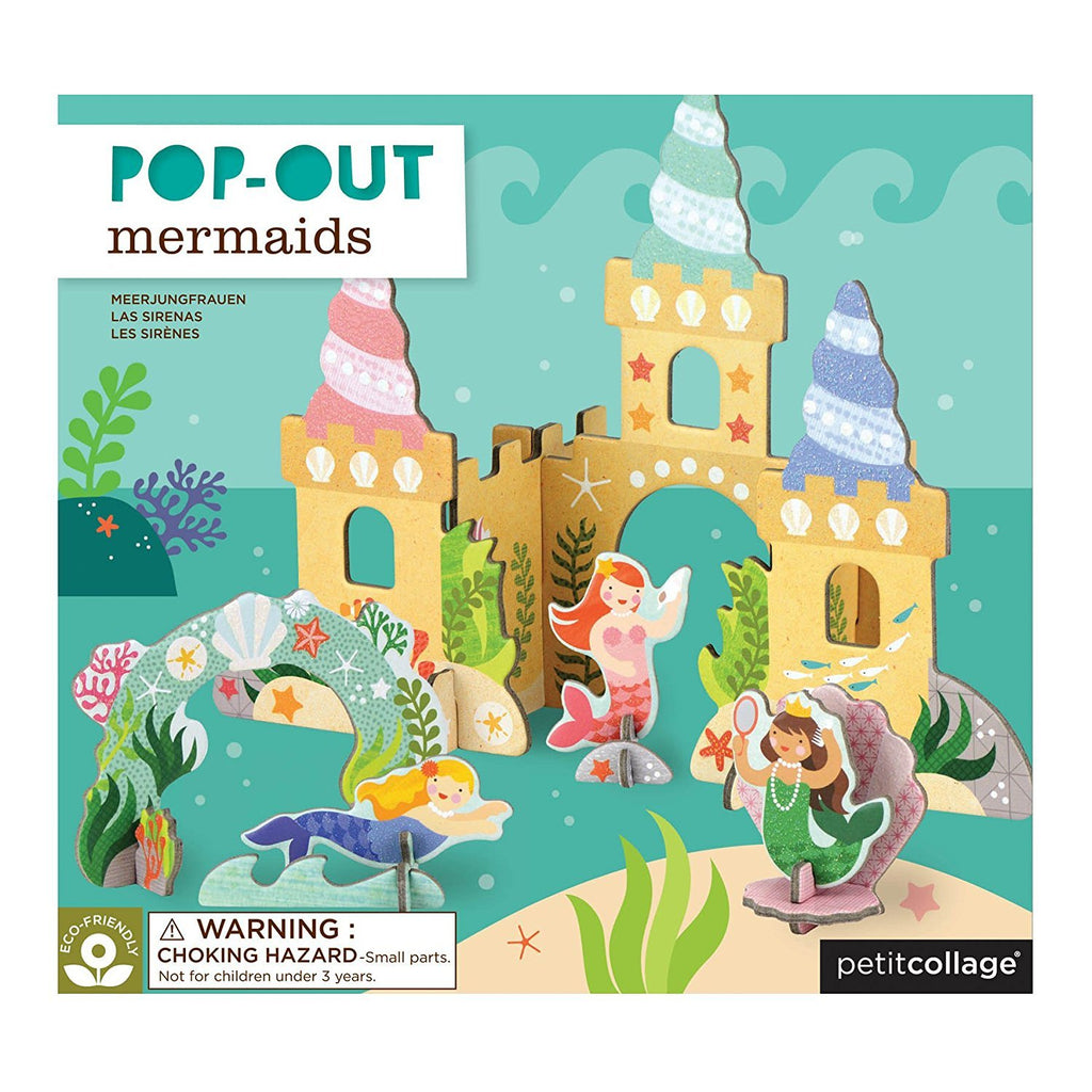 Pop-Out and Build Playlet - Mermaid