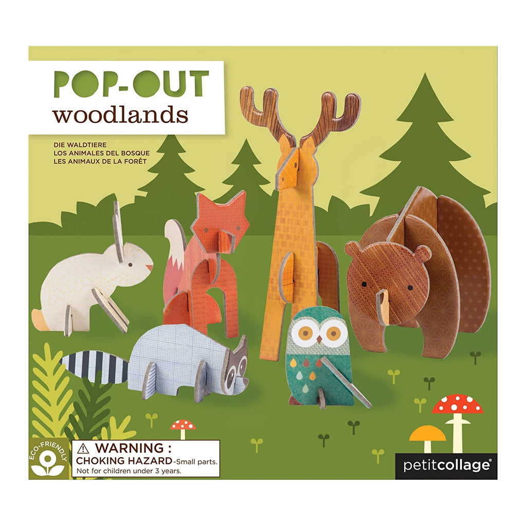 Pop-Out and Build Playlet - Woodland