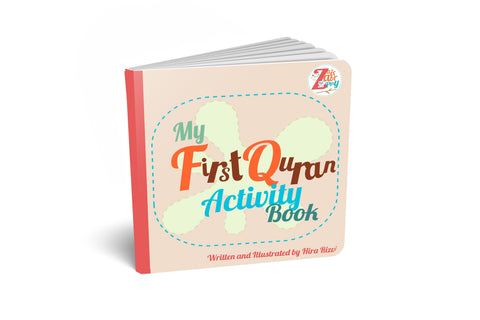 My First Quran Activity Board Book |