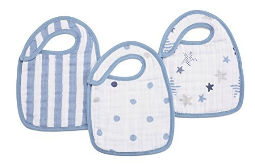 Rock Star Classic 3-Pack  Snap Bibs