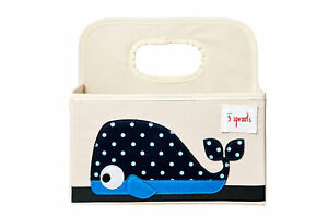 Whale - Diaper Caddy