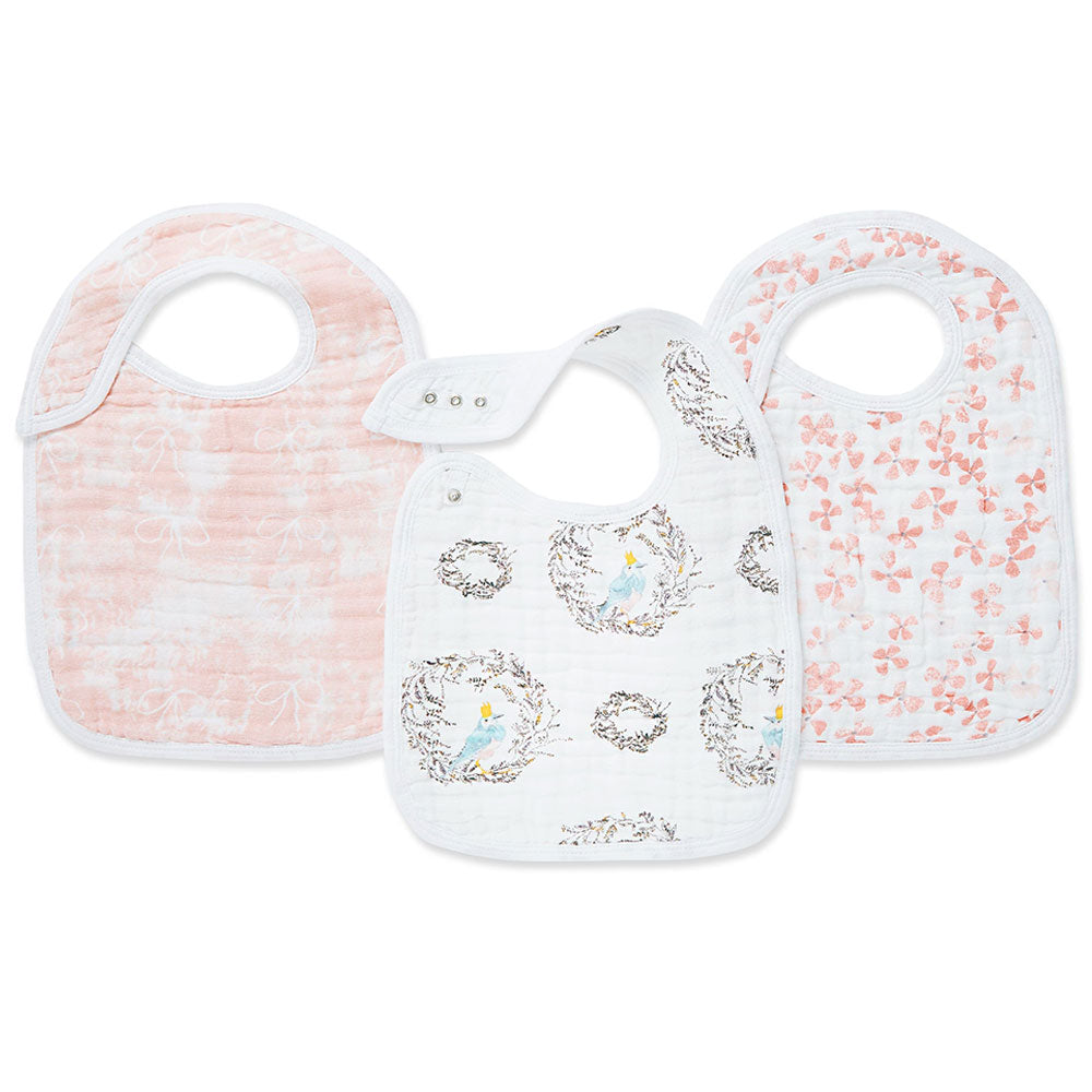 Bird Song Classic 3-Pack Bibs