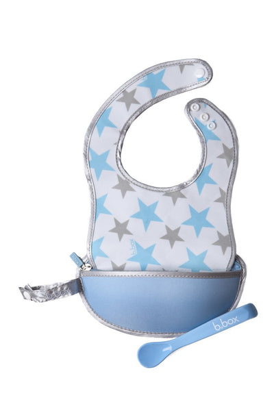 Travel Spoon  + Bib - Shinning Star