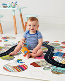 Doubleplay Reversible Playmat - Vibrant Village