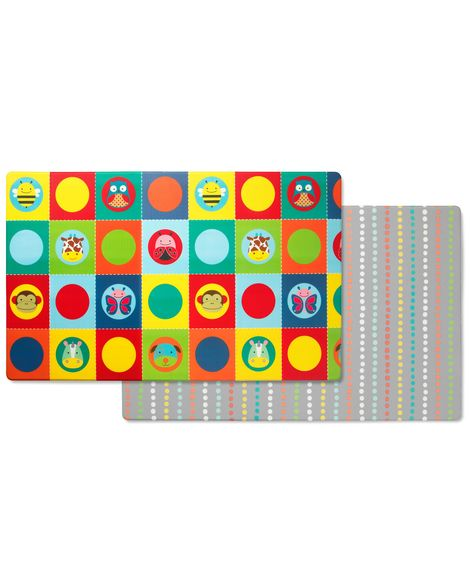 Doubleplay Reversible Playmat Zoo