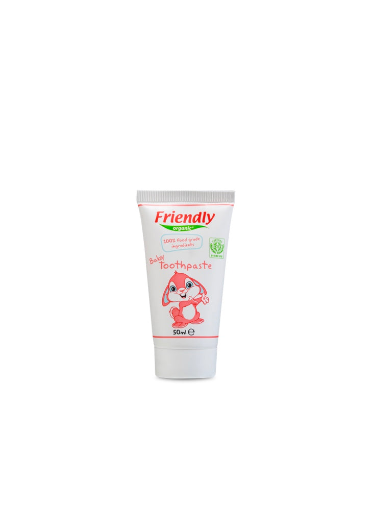 Organic Baby Toothpaste - Strawberry