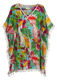 Tropical Birds Kaftan
