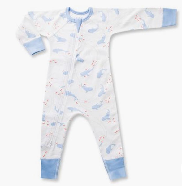 Whale Shark Romper & Swaddle Set
