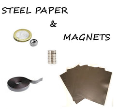 STEEL PAPER & MAGNETS