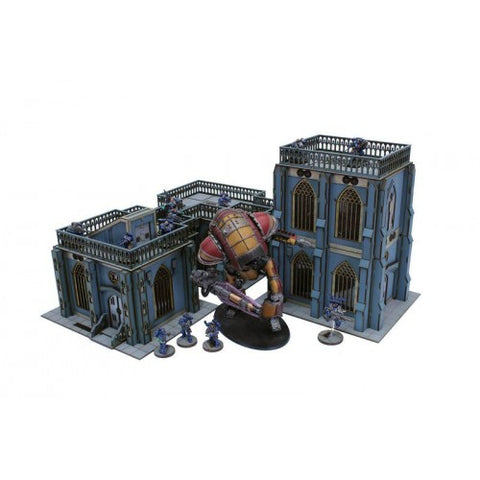 4Ground - 28S-UMS-S5 Urbes Mortis Buildings Set 01
