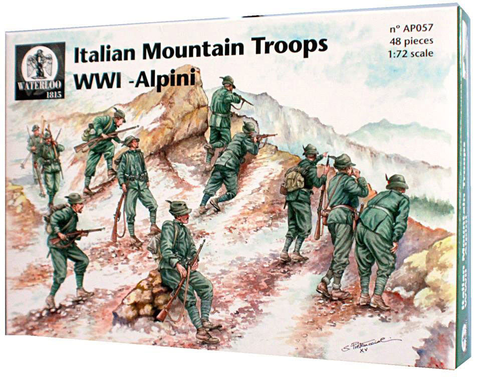 Waterloo 1815 - Italian mountain troops WWI - Alpini - 1:72 - AP057
