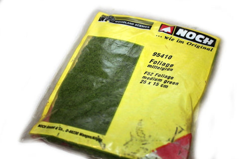 Noch - 95410 - Foliage medium green (25x15 cm)
