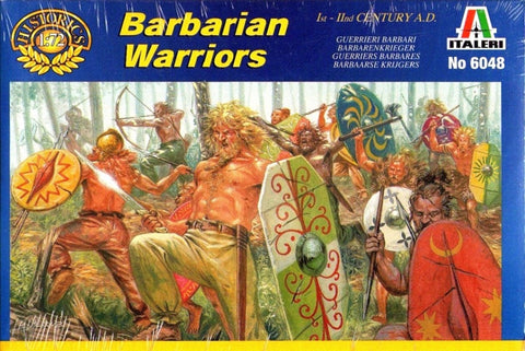 Italeri - Barbarian warriors (I-II century A.D.) - 1:72