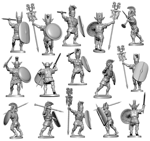 Victrix - Ancient Armoured Samnites - 28mm
