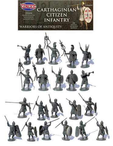 Victrix - Carthaginian Citizen Infantry - 28mm