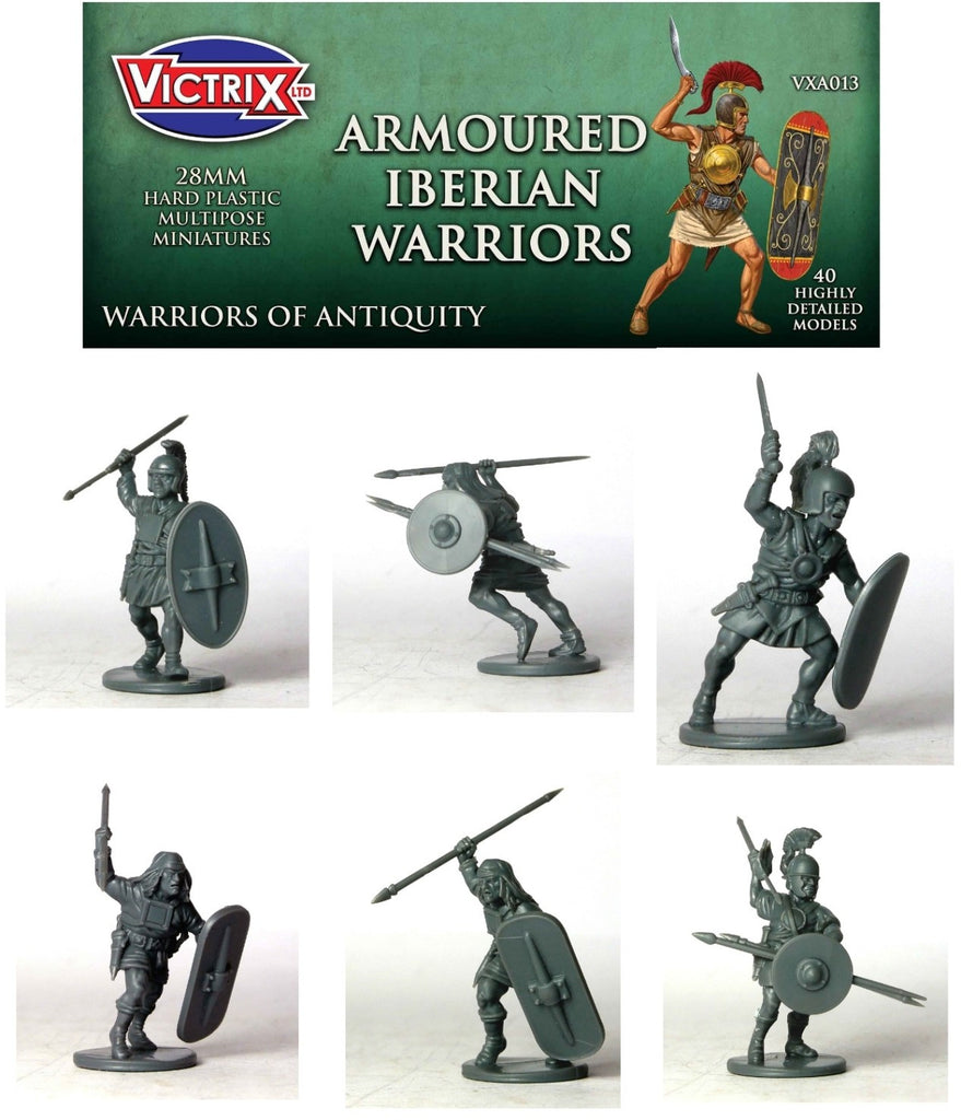 Victrix - VXA013 - Ancient Iberian Armoured Warriors - 28mm