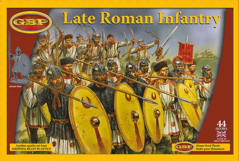 Gripping Beast - Late roman infantry - 28mm - GBP09