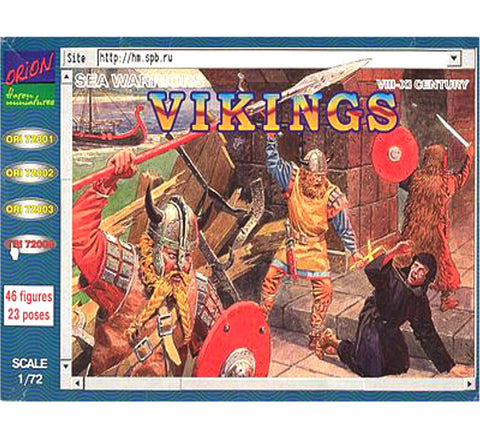 Orion - Vikings (VIII-XI Century) - 1:72
