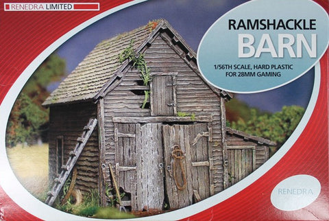 Renedra - RAMBARN - Ramshackle Barn - 28mm