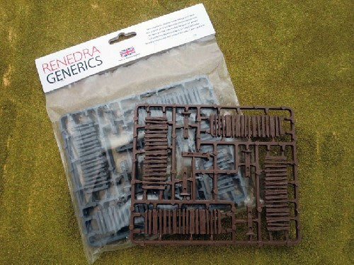 Renedra Generics - Palisade Fencing - 28mm