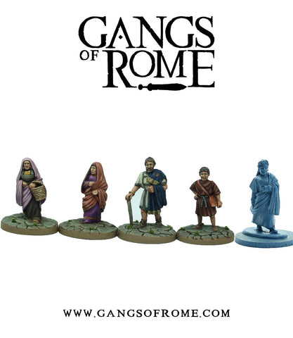 Gangs of Rome - WBGORM01 - Mob Primus - 28mm