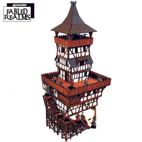 4GROUND - Mordanburg City Watchtower - 28mm - 28S-FAR-113