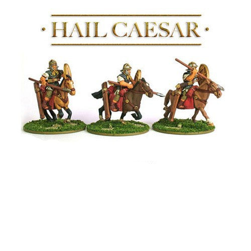 Warlord Games -WGH-IR-35- Hail Caesar - Roman cavalry with spears - 28mm