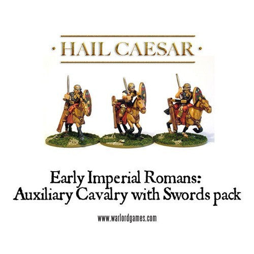 Hail Caesar - WG-IR-25 - Roman auxiliary cavalry with swords - 28mm