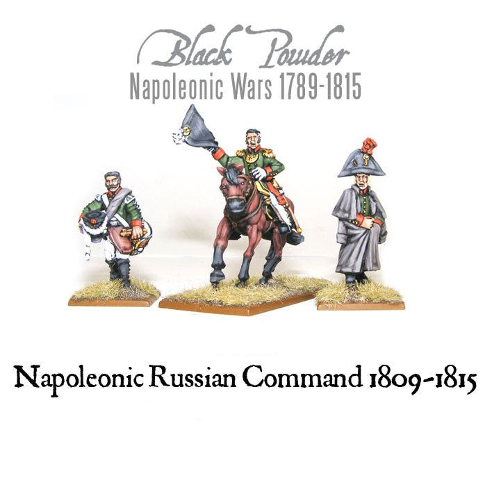 Warlord Games WGN-RUS-23 - Black Powder - Napoleonic Russian command  (1809-15) - 28mm