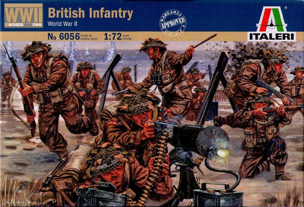 Italeri - British infantry (World War II) - 1:72