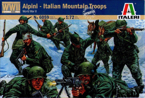 Italeri - Alpini - Italian mountain troops (World War II) - 1:72