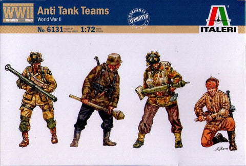 Italeri - Anti tank teams (World War II) - 1:72