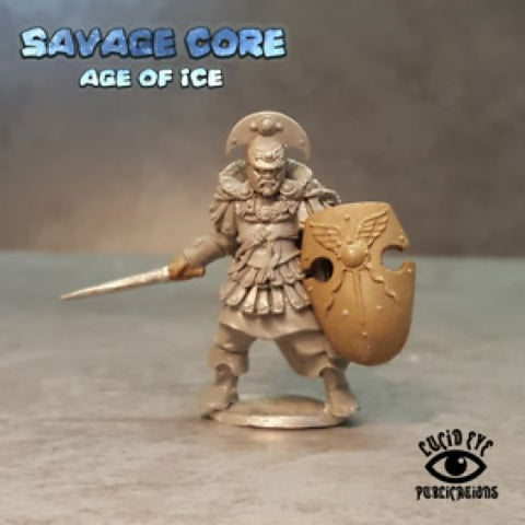 Lucid Eye LI-IAB001 - Ice Age Atlantean Boss Krixos the Indomitable