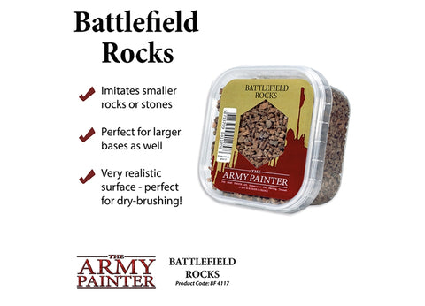Army Painter AP-BF4117 - Battlefield Rocks