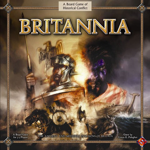 Boardgame - Britannia - the ancient and medieval invasionss of britain (Lewis E.Pulsipher)