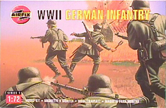 Airfix - WWII German infantry - 1:72