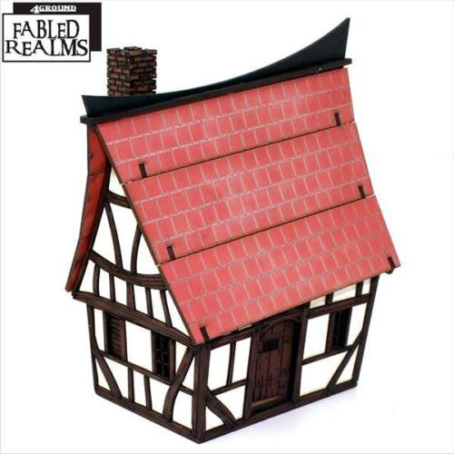 4GROUND - Mordanburg Backstreet Hovel 03 - 28mm - 28S-FAR-107