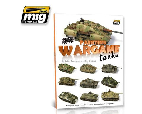 Books - Ammo of mig - Painting wargame tanks