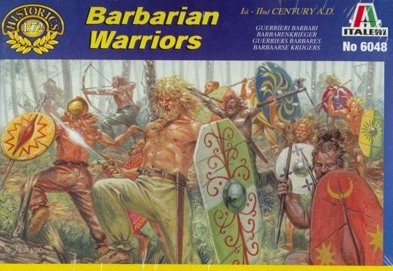 Italeri 6048 - Barbarian warriors - 1:72