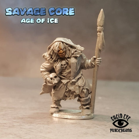 Lucid Eye LI-IAB005 - Ice Age Neanderthal Boss Lame Getra Tribal Mother