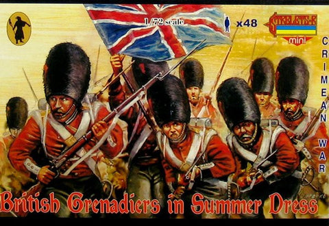 Strelets - British grenadiers in summer dress - 1:72