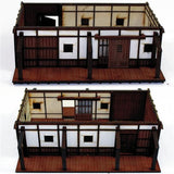 4GROUND - Shogunate Japan Peasant farmer's cottage - 28mm - 28S-EDO-106