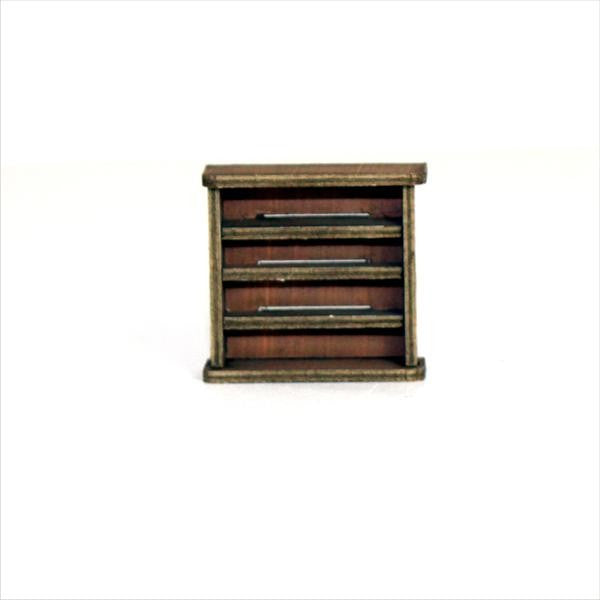4GROUND - Small bookcase - 28mm - 28S-FAB-001L