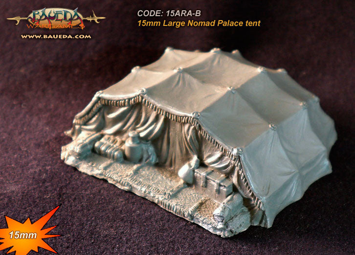 Baueda - Arab Palace tent - 15mm - 15ARA-B