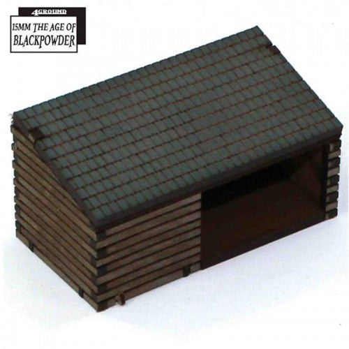 4GROUND - Cart shed & Wood store - 15mm - 15S-ABP-A01