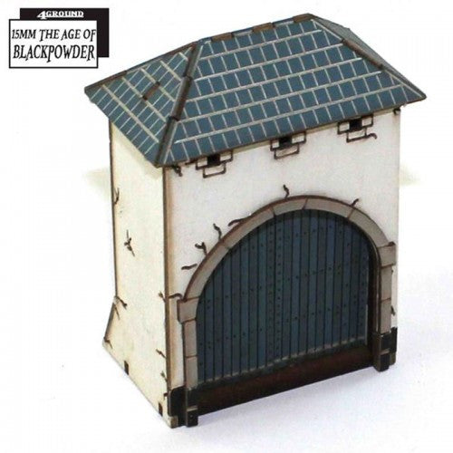 4GROUND - Gated Dovecote - 15mm - 15S-ABP-A03