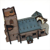 4GROUND - Damaged parish church - 15mm - 15S-EAW-106D
