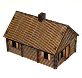 4GROUND - Log timber house - 15mm - 15S-EAW-110